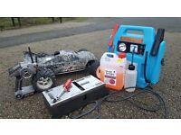 Rc nitro spares/repairs starts fine