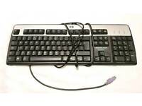 HP UK- QWERTY Keyboard KB-0316 PS2