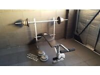 Marcy Weights Bench & Weights