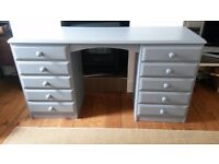 Solid pine desk FREE DELIVERY