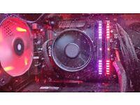 Ryzen 1600 w/ wraith spire cooler