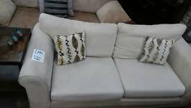 Light cream 2 seater sofa