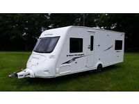 fleetwood heritage 560/4 caravan, Twin rear beds