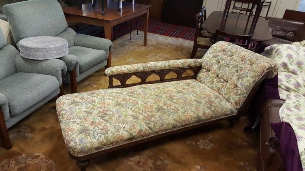 Antique Chaise Longue | in Bearsden, Glasgow | Gumtree on chaise sofa sleeper, chaise furniture, chaise recliner chair,