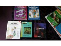 Biology/medicine/anatomy textbooks