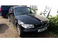 BMW 1 SERIES 118D SPARES OR REPAIRS 2006 FIVE DOOR
