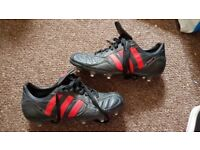 Adidas rugby shoes/boots size 8