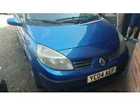Renault scenic 1.5 diesel 2004 reg breaking for parts