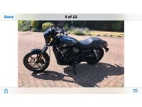Harley Davidson XG 750 Street ( with Vance and Hines comp exaust and tuning )