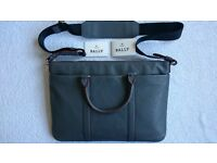 Bally leather laptop bag - brand new