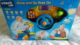 New in box ride on also flip of toys