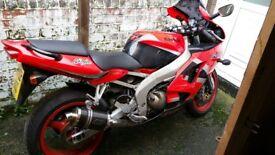 Kawasaki zx636. 2002