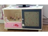Shabby chic TV cabinet/unit/table/stand