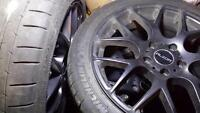 "Vw/Audi 17"" aftermarket with Michelin Super Sport tires"