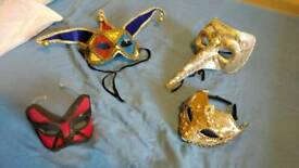 Fancy dress masks creepy