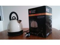 Russell Hobbs toaster + kettle like new with its own box!!!