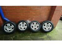 5x100 vw seat audi alloy wheels