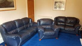 Calia 3 peice leather suite