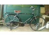 Terrain classic three speed bike . 26.inch wheels. 22inch.frame. £100