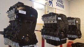 FORD TRANSIT RECONDITIONED ENGINES 2.2 EURO 4 £1095 FREE UK DELIVERY ( fitting service available )