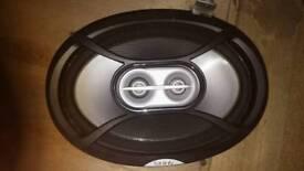 Infinity car speakers x2 300w