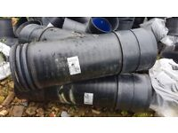Polypipe Rigidrain 300mm x 225mm Y-Junction. Twinwall Product code: JRD300225Y