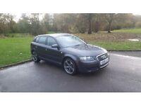 Audi A3 1.9 tdi Special Edition 1 owner + Black edition Alloys