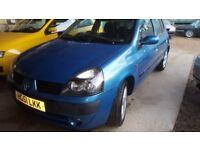 Renault Clio 1.2, low INSURANCE & TAX, Long MOT, 5 Doors, Very clean