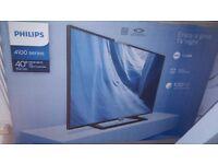Phillips tv brand new 40inch