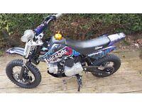 Black Stomp Jb110 pit bike 2014