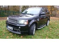 Range Rover Sport 3.6 TDV8 HSE/HST LEFT HAND DRIVE FULL LOAD FSH price reducted only for this week
