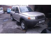 LANDROVER FREELANDER 1.8 FOR SPARES OR REPAIRS EXCELLENT CONDITION ENGINE MINT
