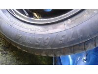 vauxhall corsa 2005, tyres with wheels 175/65/14