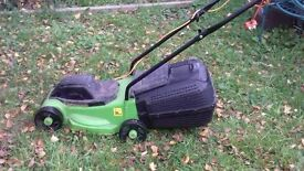lawn mower - electric/green and black