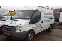**FOR BREAKING** 2009 FORD TRANSIT (CHOICE OF 2.2 AND 2.4 DIESEL ENGINES).