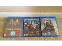 3 Blu ray bundle