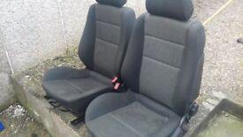 Vauxhall Astra H SRi front seats ( 4 Door )