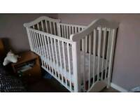 Cot, changing unit and more
