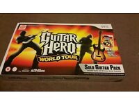 Guitar Hero with Guitar (boxed) for Nintendo Wii