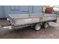 Ifor williams lm125 trailer dropside flatbed ivor