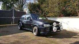 Immaculate Ford Fiesta Mk2 1991 Brand new 2.0 Zetec Engine Fully Restored (not escort capri manta)