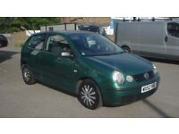 2002 52 Vw Polo 1.2 S 3 Door Only 77000 Miles Drives Great