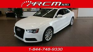 2016 Audi A5 S-LINE AWD MANUAL SUPER CLEAN - TAKE IT HOME TODAY