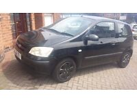 QUICK SALE..hyundai getz..2003..80000miles only..11 month mot..perfect in out..drives 110%..lovely