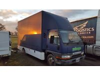 1998 mitsubishi canter luton box 12 months mot only done 52k
