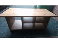 For Sale: Ikea Wooden TV Stand / Coffee Table
