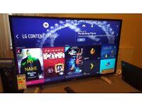LG 43-inch SUPER Smart 4K UHD ACTIVE HDR LED TV- 43UJ630V, 2017 MODEL,Wifi,Freeview & Freesat HD