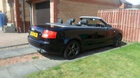 Audi A4 Cab sport 1.8T in very good condition long MOT