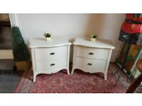 pair of bedside drawers, Winsor Furniture AS NEW