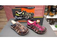 NEW MENS / WOMENS MERRELL ALL OUT BLAZE SIEVE TRAINERS / HIKING SHOE 50% OFF!